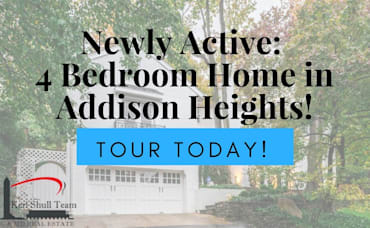 Newly Active: 4 Bedroom Home in Addison Heights!