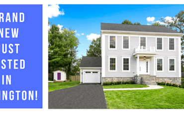 Can't Miss Just Listed! Brand New North Arlington Home