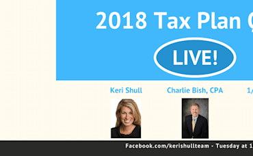 2018 Tax Plan Changes for Real Estate: Questions Answered Live!