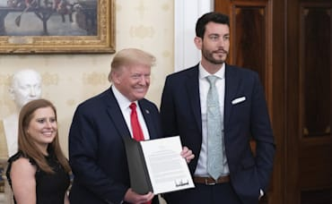 President Trump Honors 2 DC-Area Real Estate Agents for Philanthropy
