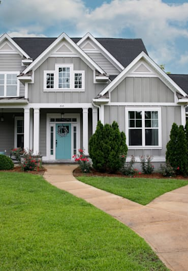 Spruce up the outside of your home and increase curb appeal