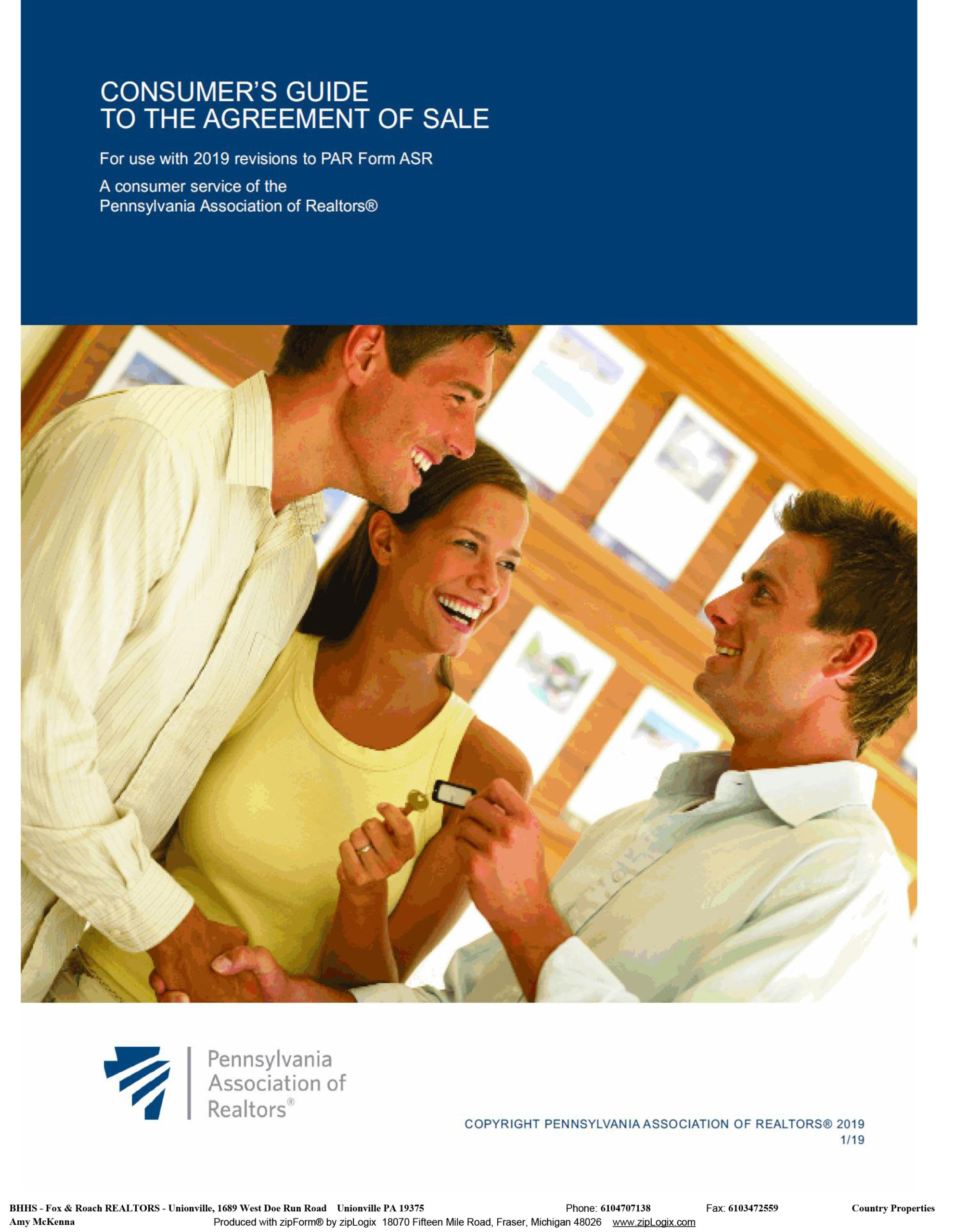 Consumers Guide with an Agreement of Sale