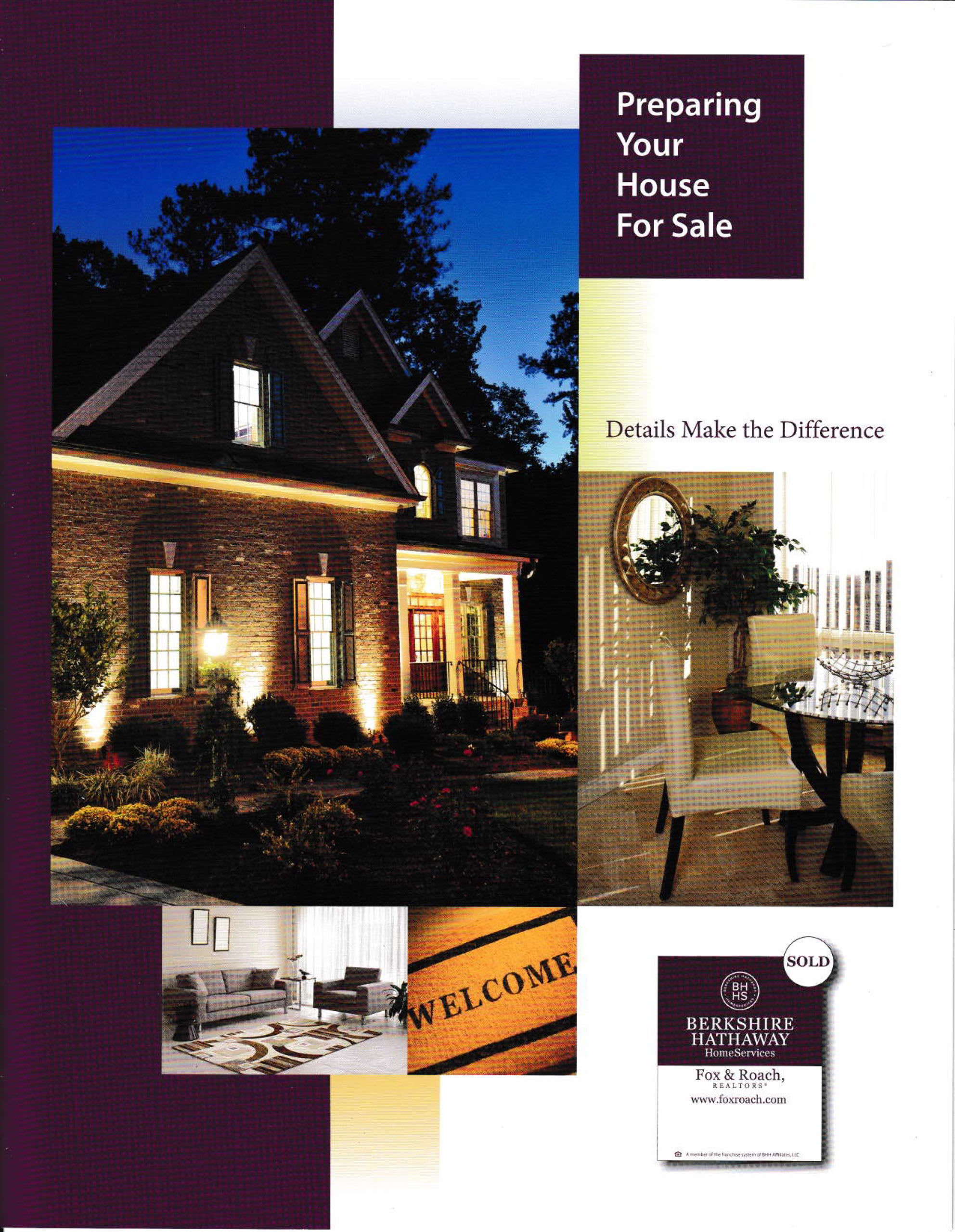 Preparing Your Housefor Sale