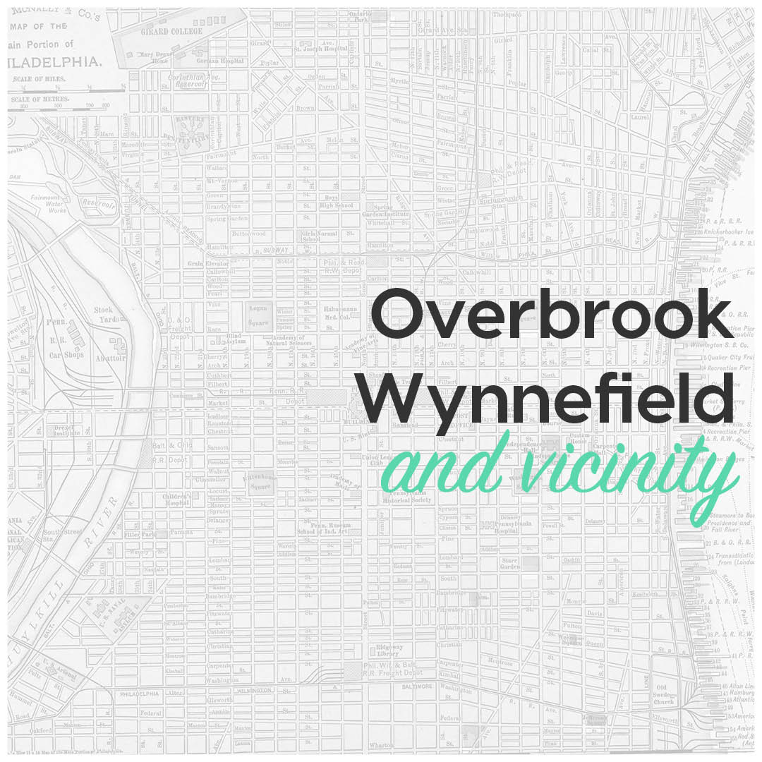 Overbrook, Wynnefield and vicinity