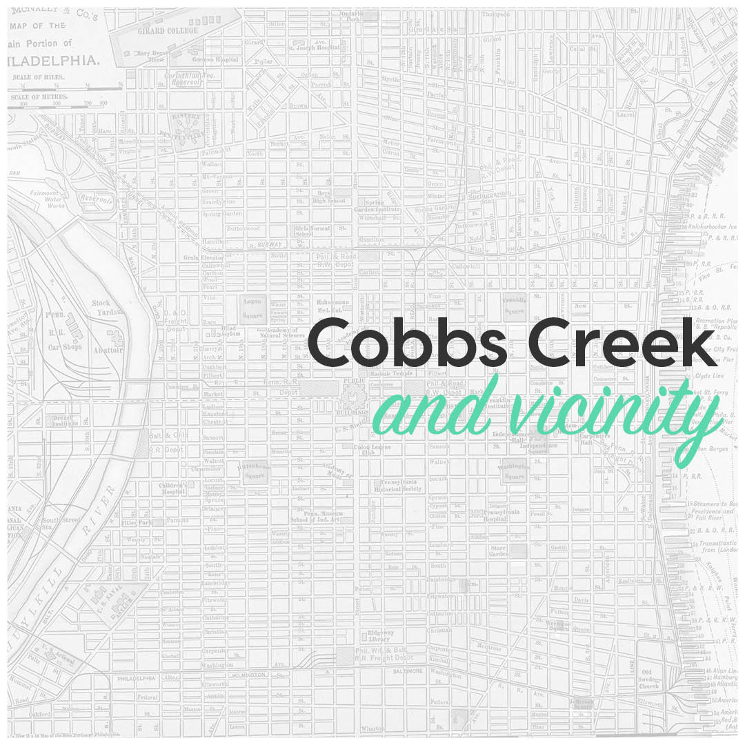 Cobbs Creek and vicinity