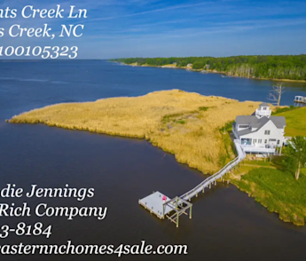 Looking for a Waterfront Home with a Deep-water Boatslip in Eastern, NC?