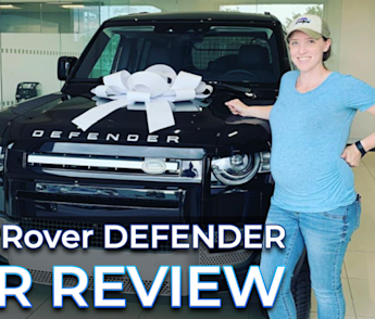 My very professional review of the Land Rover Defender 🚙 ⛰️ ⛺