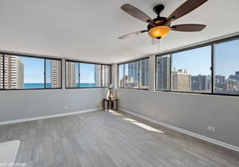 Remodeled Corner Unit Penthouse with Lake Views in Prime Edgewater Beach!