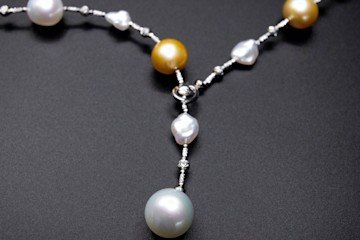 18kwg Pearl Necklace