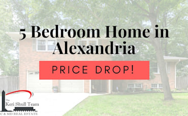 PRICE DROP! 5 Bedroom Home in Alexandria