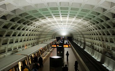 Map of Median Home Prices Near Washington DC Metro Stops