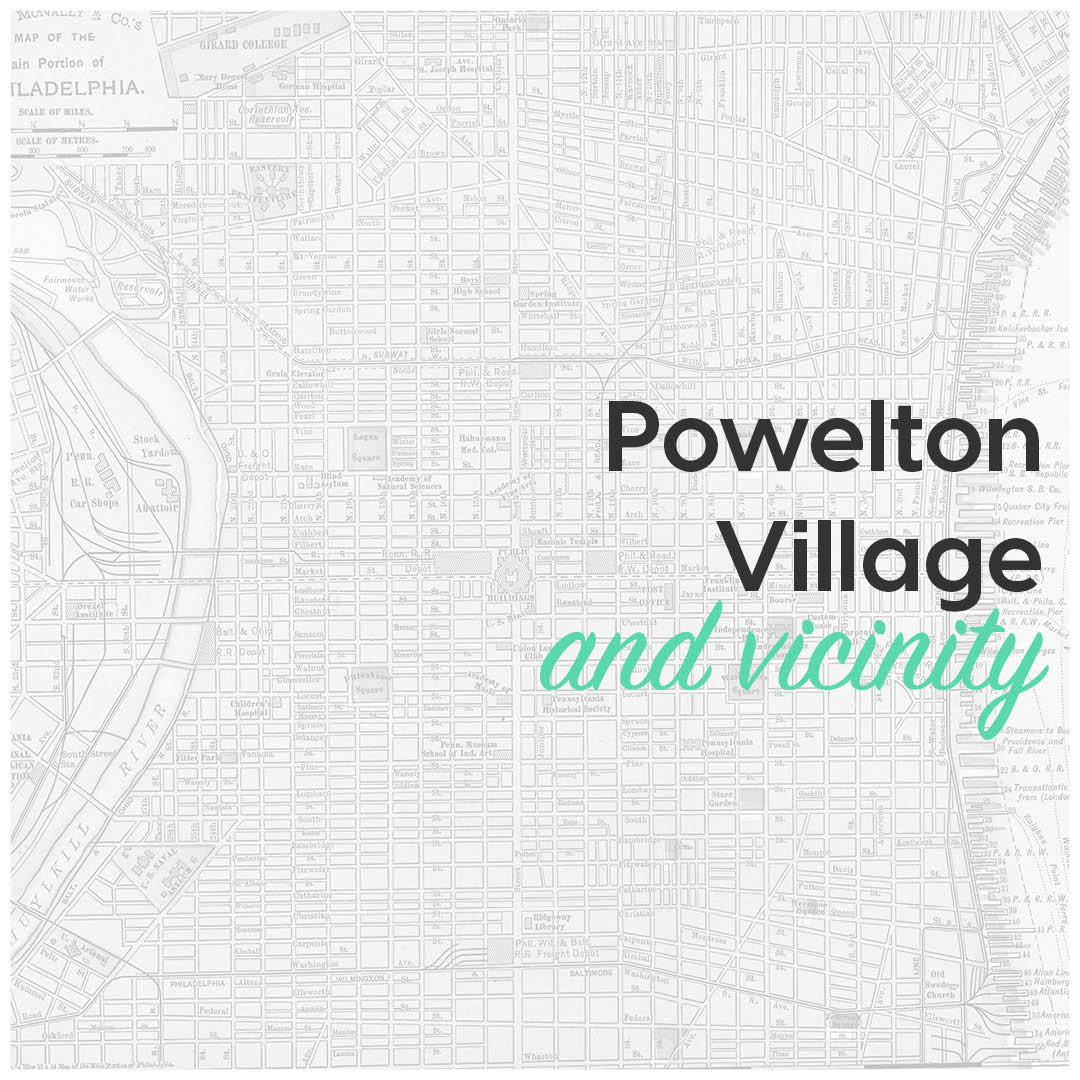Powelton Village and vicinity