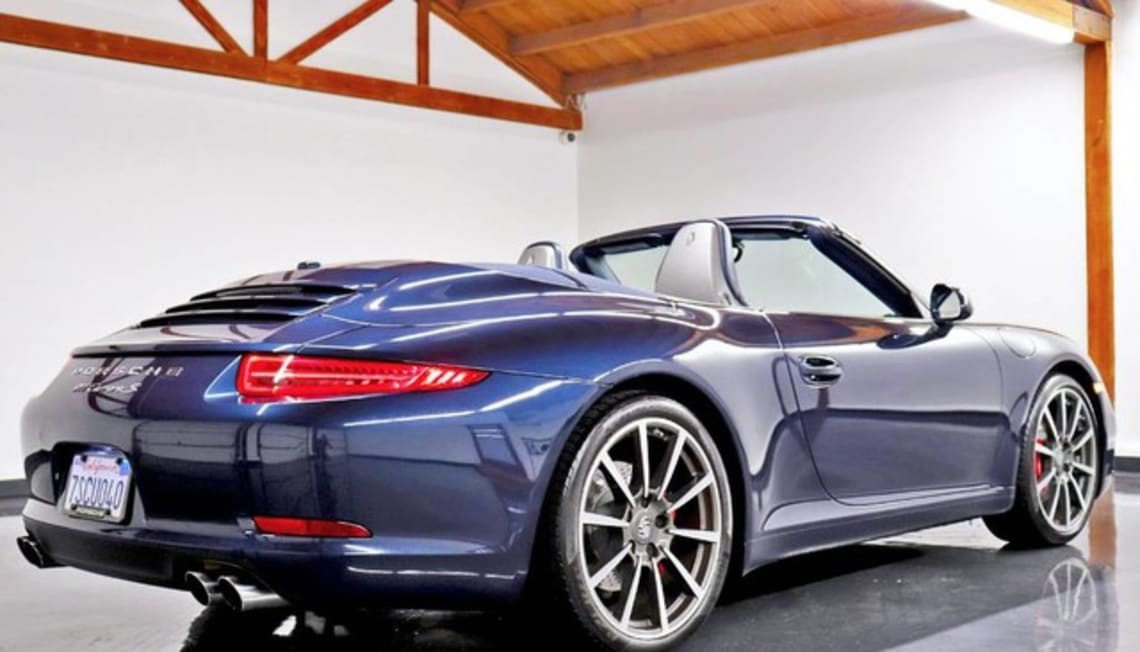 Just Listed: 911 Carrera Cabriolet – Manual, Porsche