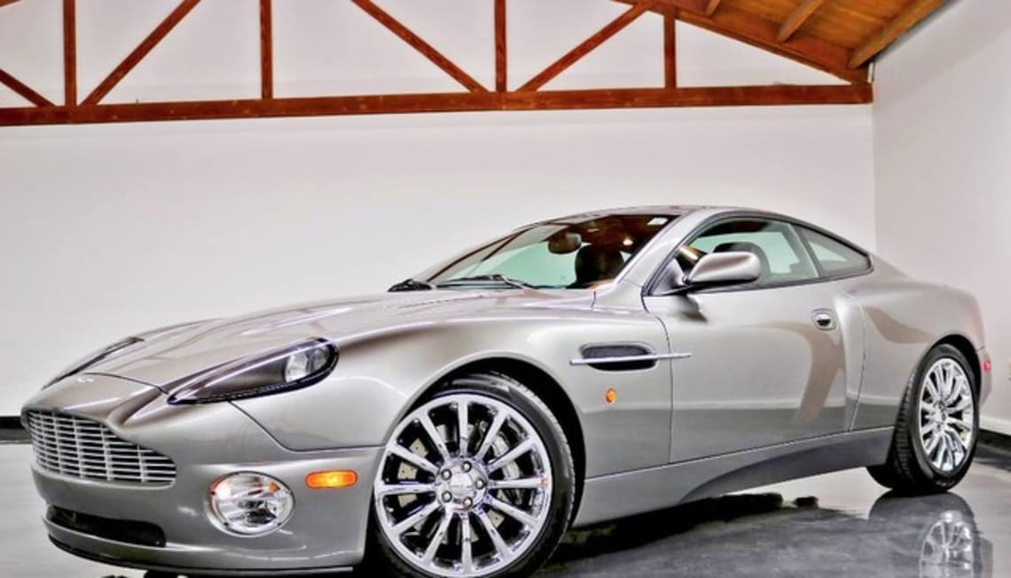 Just Listed: Vanquish, Aston Martin