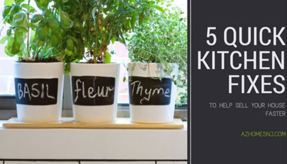 5 Quick Kitchen Fixes to Help Sell Your House Faster