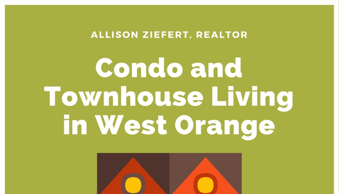 Condo and Townhouse Living in West Orange