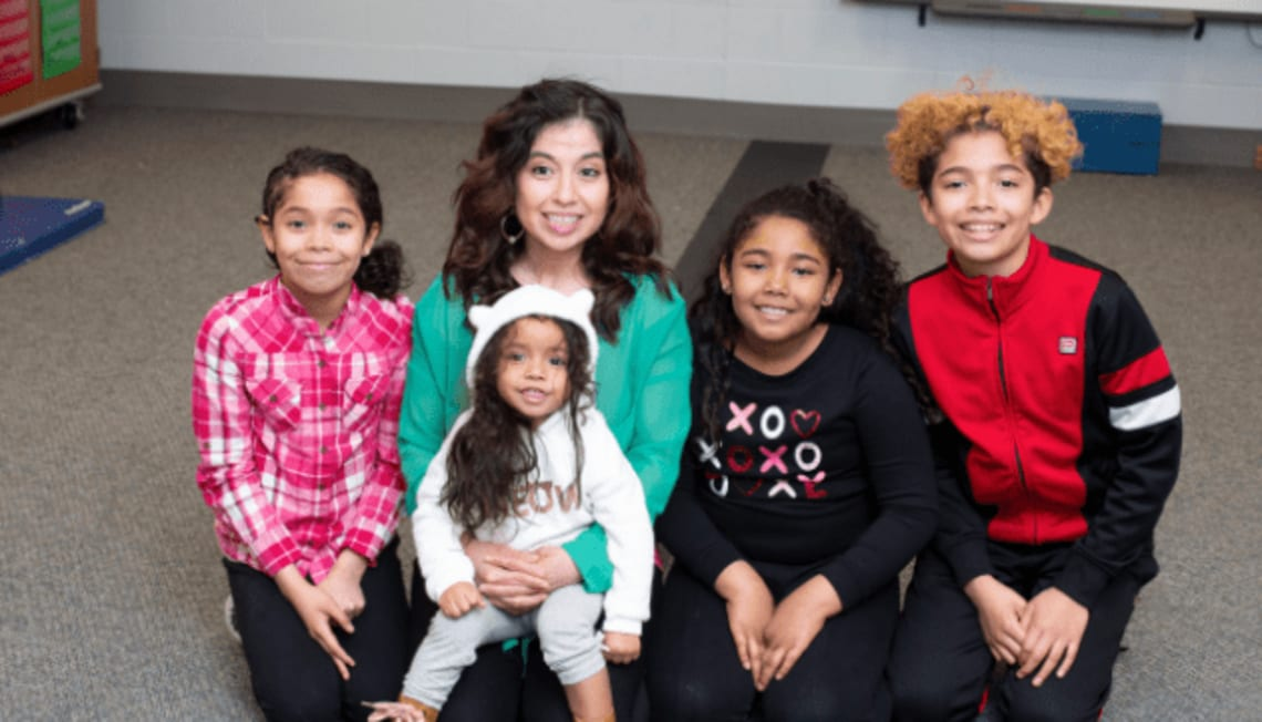 """Holiday Giving-AZ Team """"Adopts"""" Formerly Homeless Family"""