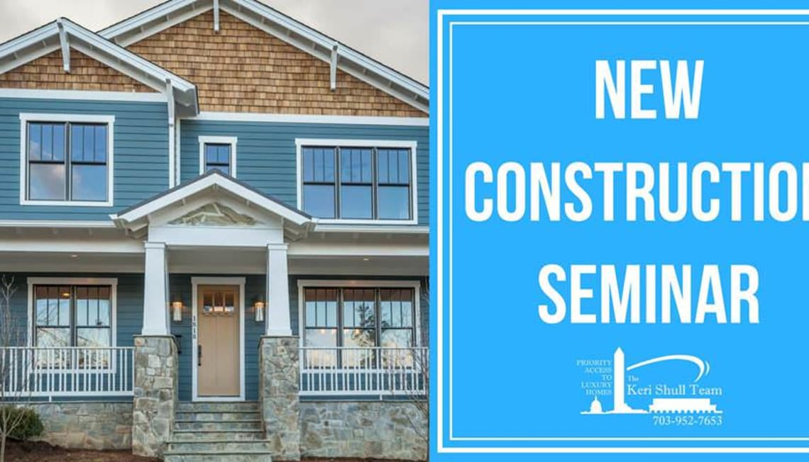 New Construction Seminar, Monday Feb 5th – Free!