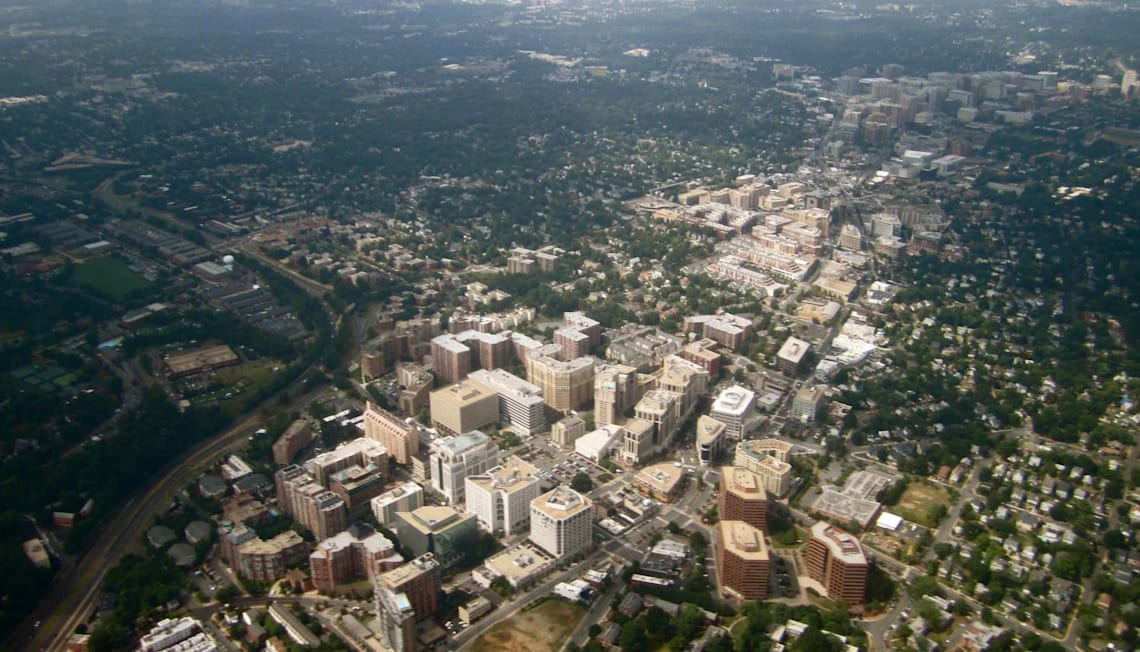 Incredible Aerial Footage of Arlington VA