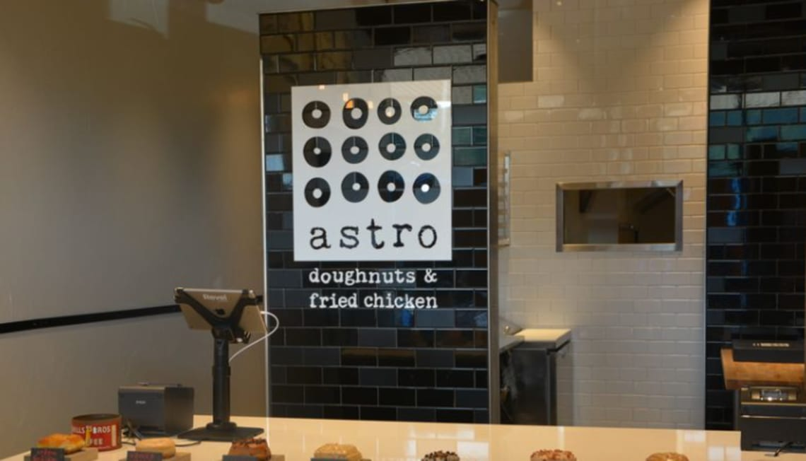 Astro Doughnuts & Fried Chicken Opens in Falls Church