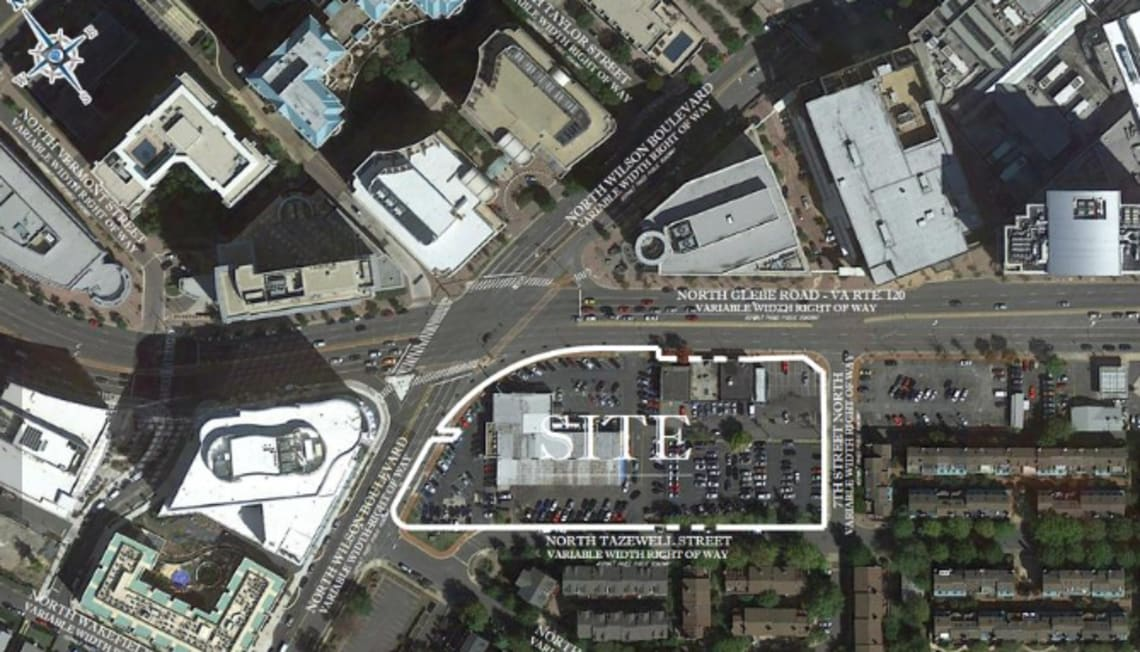 B.F. Saul's pitch for high-profile Ballston block takes shape