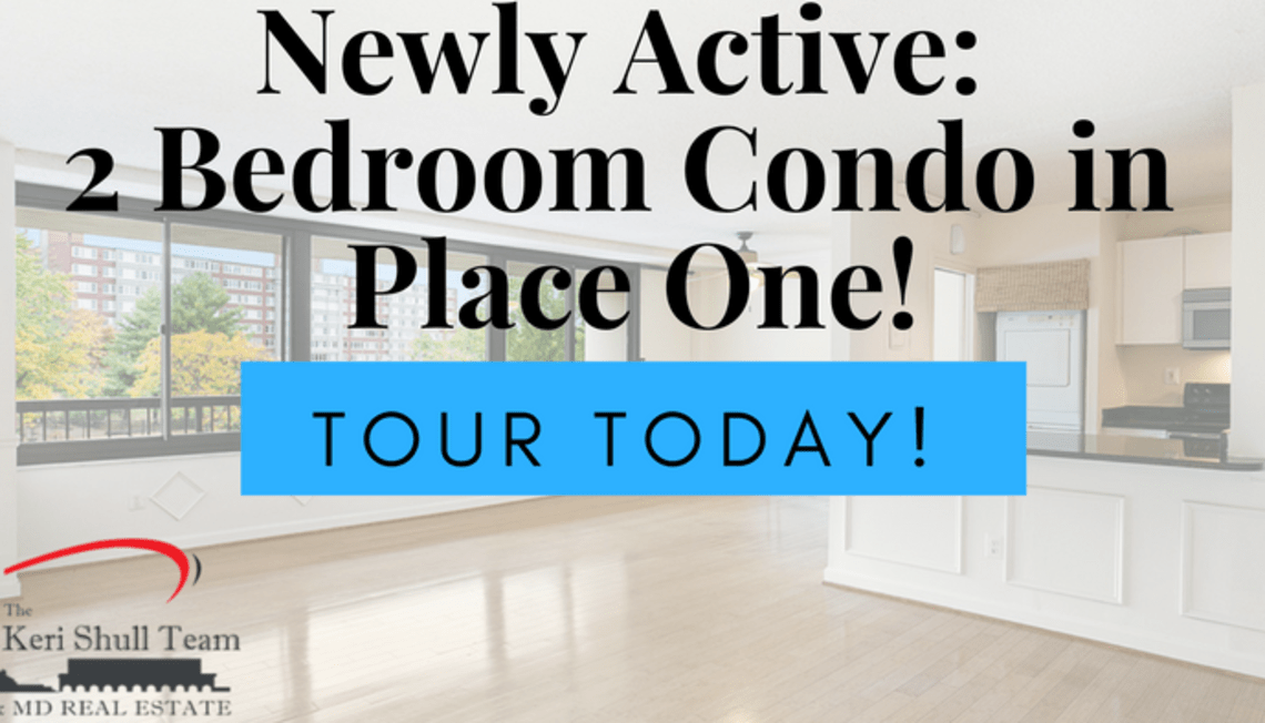 Newly Active: Updated Condo in Place One!
