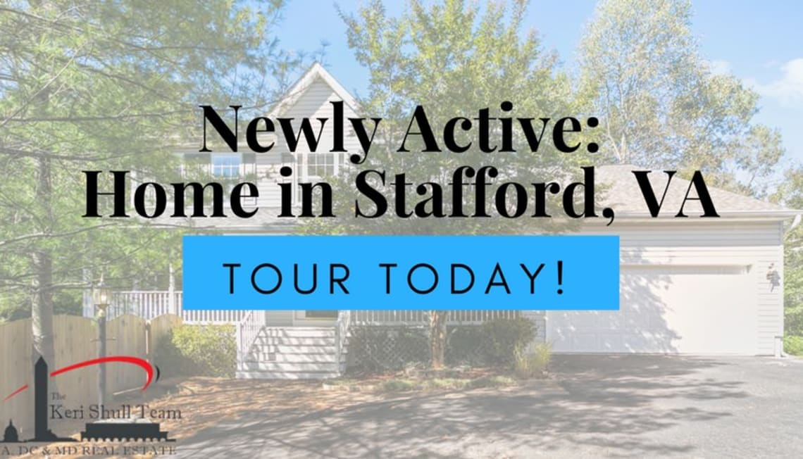 Newly Active: 5 Bedroom Home in Stafford, VA