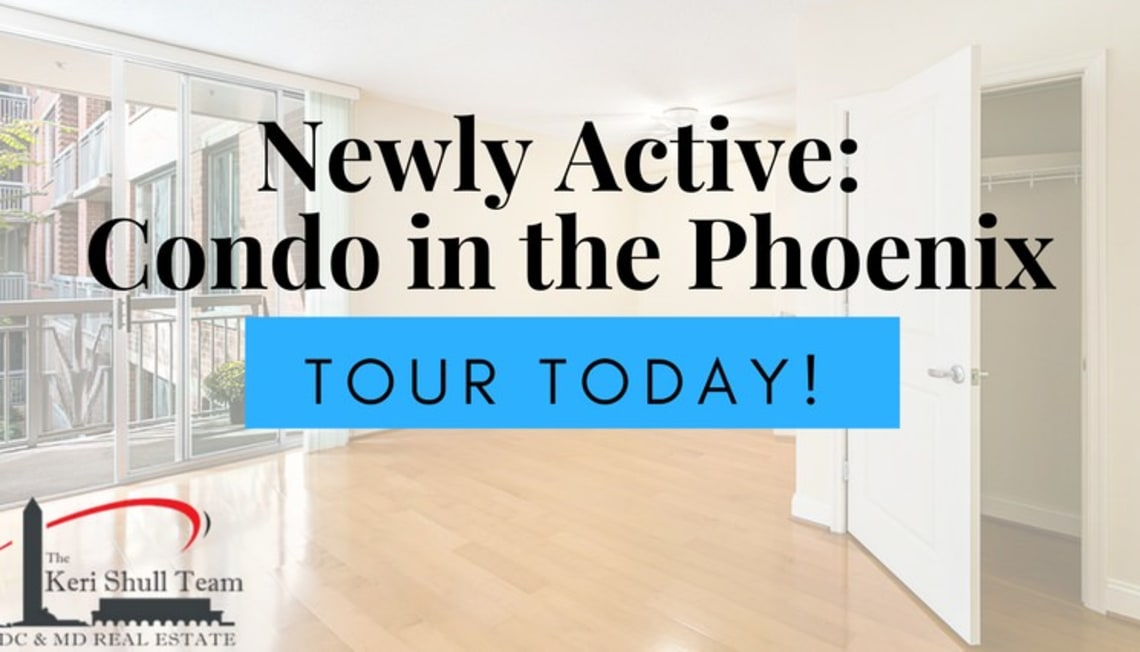 Newly Active: Studio Condo in the Phoenix