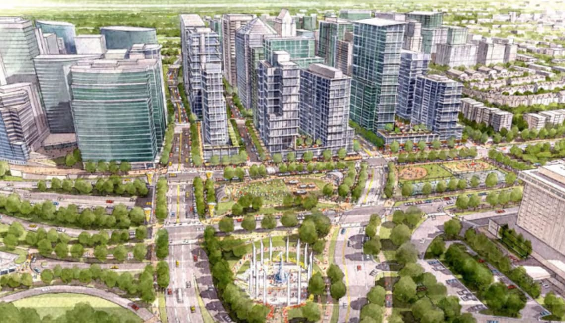 Arlington Plans For More High-Rise Buildings In Downtown Rosslyn
