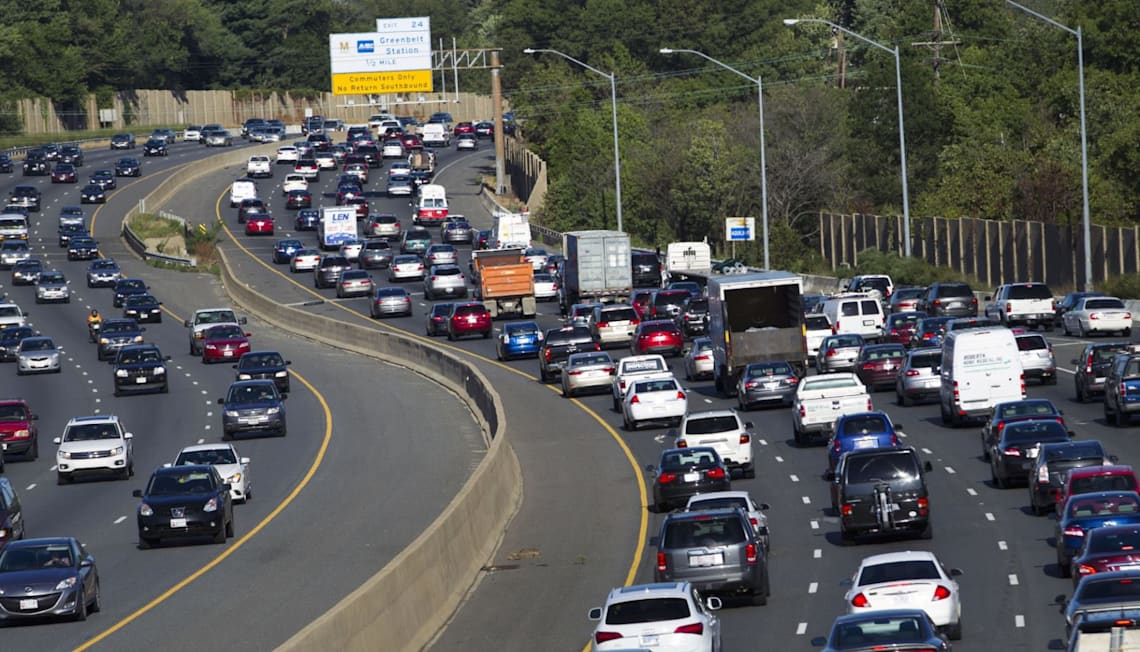 DC Ranked America's Worst City for Driving
