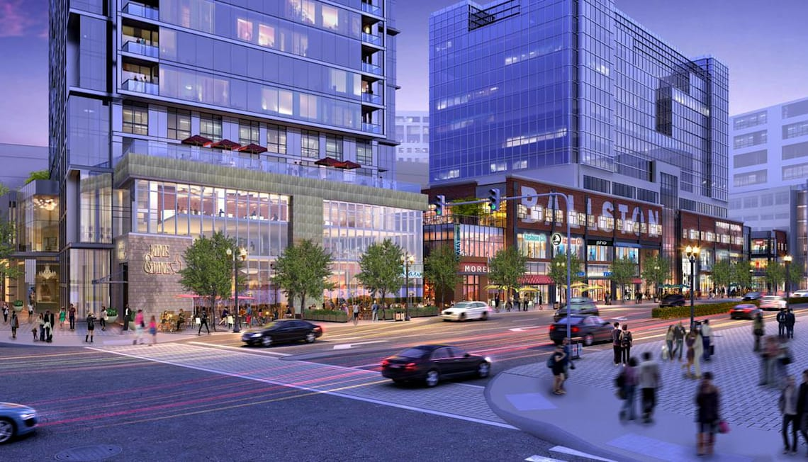 New Ballston Mall Apartments Coming with Mall Makeover