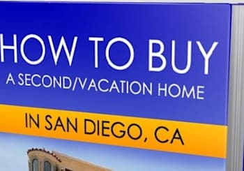 eBook:  How To Buy a Second/Vacation Home in San Diego