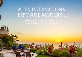 Expansión | Pacific Sotheby's International Realty Partners with Mexico!