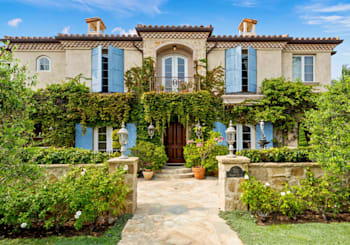 Sprawling Chateau-Style Property with Solana Beach Views Offered at $5.99 Million