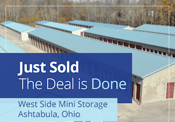 SOLD – West Side Mini Storage 46,800 NRSF – Ashtabula, OH