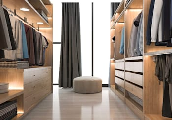 How To Stage a Closet