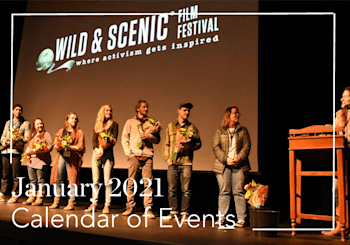 January 2021 Calendar of Virtual Events