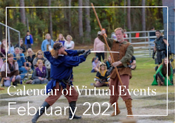 February 2021 Calendar of Events