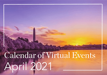 April 2021 Calendar of Virtual Events