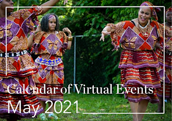 May 2021 Calendar of Virtual Events