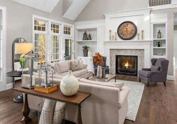 Living In Your Staged Small Lot Home