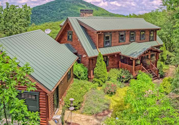 JUST LISTED…Sophisticated Luxury Heritage True Log Cabin in The Preserve at Sharp Mountain is Incredible!