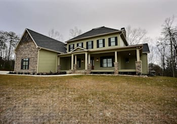 JUST LISTED! 3 Level Luxury Mountain View Home in Prestigious Fox Lake Community in Blairsville