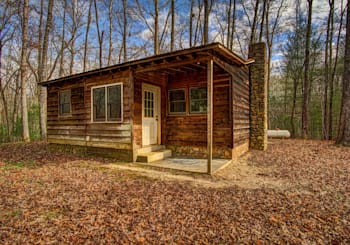 JUST LISTED! PERFECT HUNTING CABIN ON 6 ROLLING ACRES…NEEDS SOME TLC BUT AN AMAZING DEAL!
