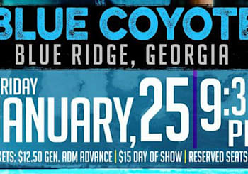 Jacob Bryant Live at The Blue Coyote Bar & Grill in Blue Ridge, GA