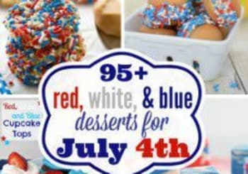 95 + Red, White & Blue Desserts for the Fourth!