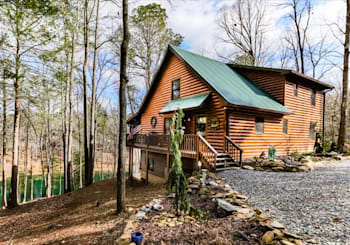 JUST LISTED! Lakefront Cabin with Year-Round Mountain Views in Rivers Edge Estates!