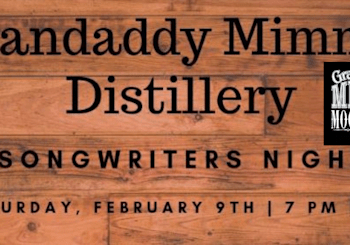 Grandaddy Mimm's Songwriters Night…February 9th 7PM!