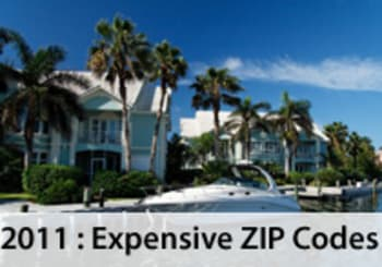 The Most Expensive ZIP Codes In 2011