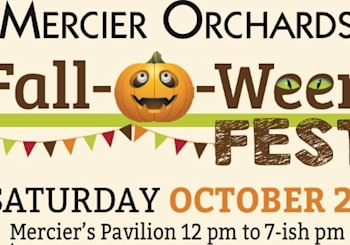 Experience Fall-O-Ween at Mercier Orchards!